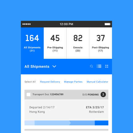 Shipment App
